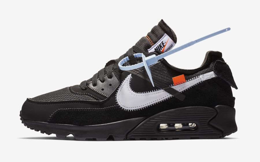 air max 90 off white raffle