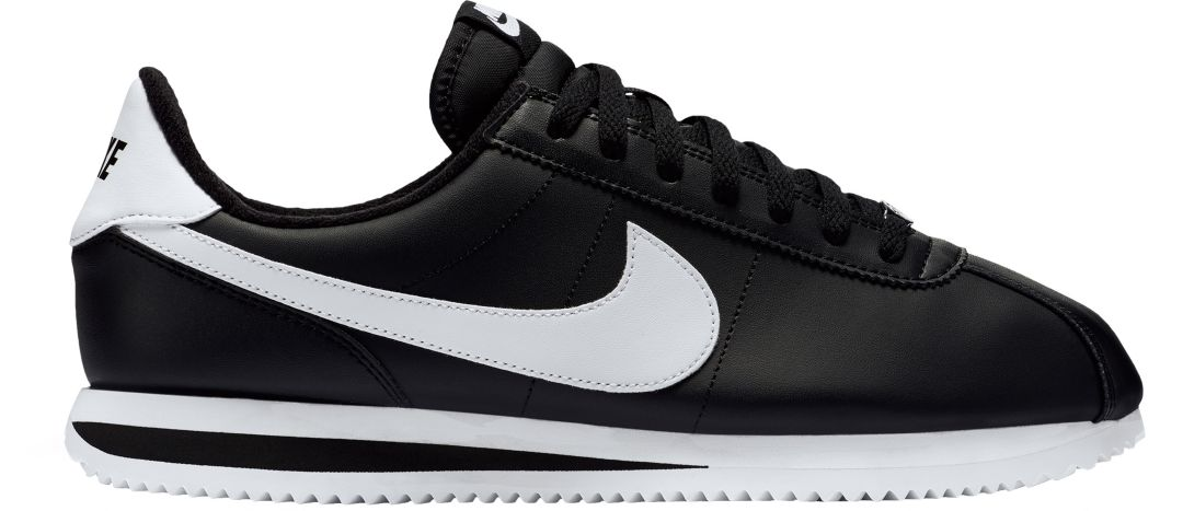 nike mens black shoes